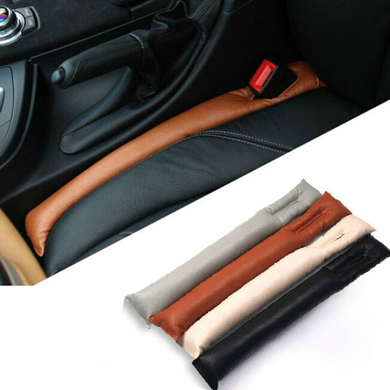 2015 Faux Leather Car Seat Gap Pad Fillers Holster Spacer Filler Padding Protective Case Auto Cleaner Clean Slot Plug Stopper(China (Mainland))
