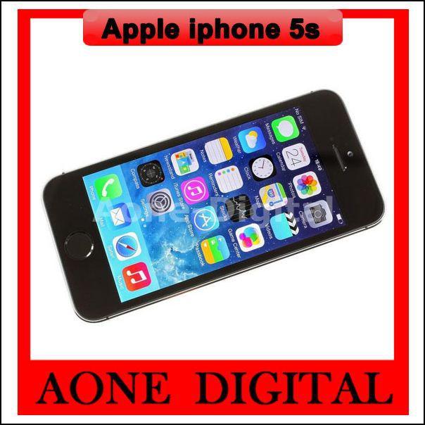 Original Factory Unlocked Apple Iphone 5s 16GB 32GB 64GB Wifi GPS Smart Cell Phone Used(China (Mainland))