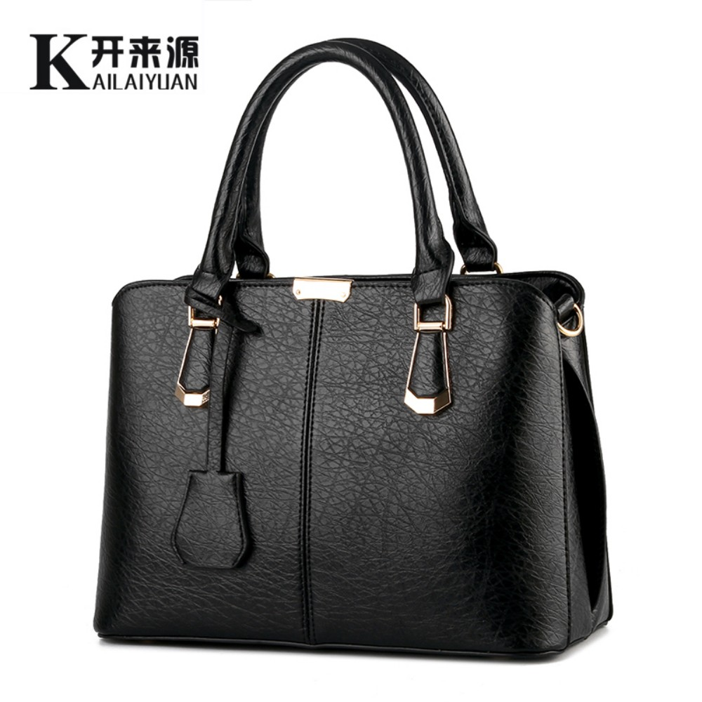 100% Genuine leather Women handbag 2016 New Korean type sweet fashion handbag Crossbody Shoulder messenger Handbag(China (Mainland))