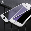 Baseus 3D 9H Tempered Glass Film For iPhone 7 7 Plus PET Soft Edge 3D Curved