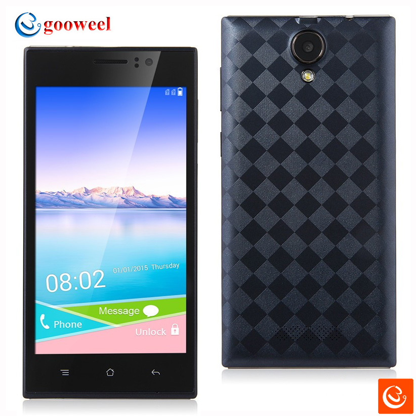 GOOWEEL Mixc V3 Smartphone Android4.4 MTK6572 Dual core android phone 5.0inch QHD screen 3G GPS 512MB 4GB mobile Free Back case(China (Mainland))