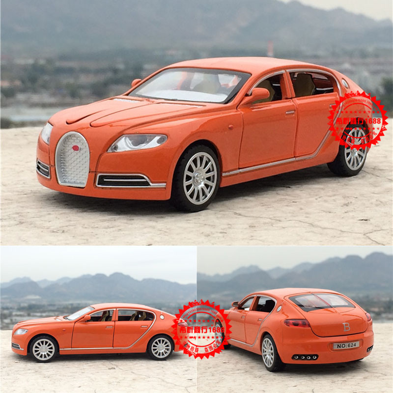 Free Shipping Collectible Alloy Diecast Car Model 1/32 Bugatti Veyron 16C Galibier With Pull Back Cars Model Kids Toys Gifts(China (Mainland))