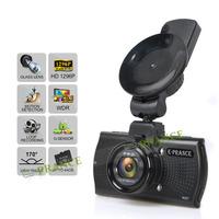 2015 E-prance B48 Car DVR Camera Ambarella A7LA70 1296P Super HD OV4689 in Polarizer Filters GPS Logger LDWS IR Video Recorder