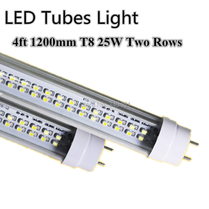 led tube 25w 4ft t8 double line led lamps replacement 50w fluorescent. Black Bedroom Furniture Sets. Home Design Ideas