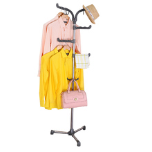 BAOYOUNI Metal Coat Rack Freestanding Coat & Hat Stand for Home or Office DQ-0775-1(China (Mainland))