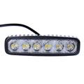 LED Spotlights 1800LM Mini 6 18W 6 x 3W Car LED Light Bar as Worklight Spot