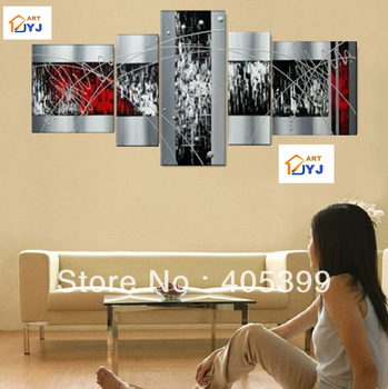 Free Shipping DHL or EMS  !!!  Huge Modern Abstract Oil Painting On Canvas  ,Handmade Canvas Oil Painting Wall Art JYJZ047