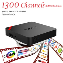 Buy European IPTV Box Android TV Box IPTV Receiver & 1300+Live French Turkish Netherlands Channels Better MXV Android TV Box for $59.39 in AliExpress store