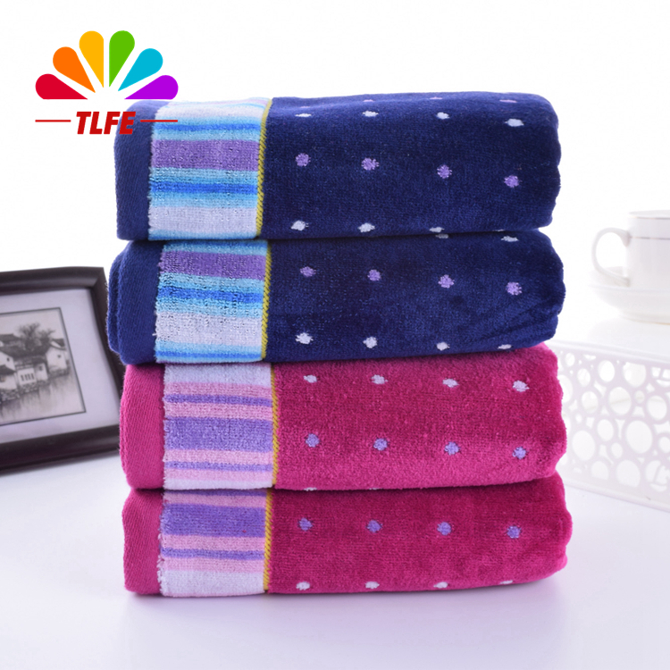 Hot Sale 35x75CM Cotton Face Towel Fast Drying Washcloth