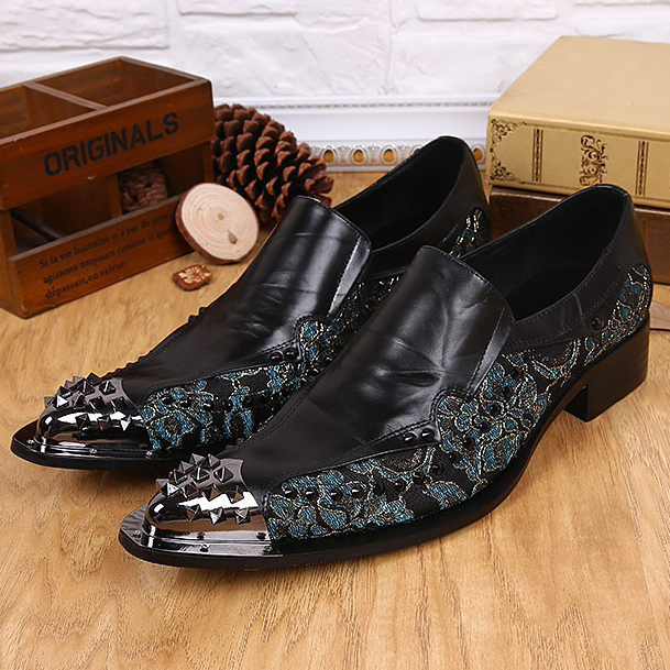 Фотография 3 Colors 2015 Business Genuine leather Wedding Flats Shoes Fashion Breathable Soft Oxfords slip-on Pointed Toe leather Shoes