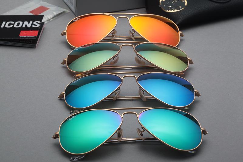 ray ban aviator original color