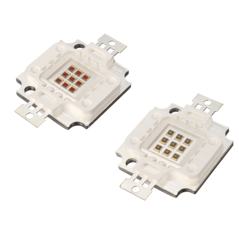 High Power 10W LED Chip 730nm 940nm IR LED Infrared Emitter Lamp LED Light Beads(China (Mainland))