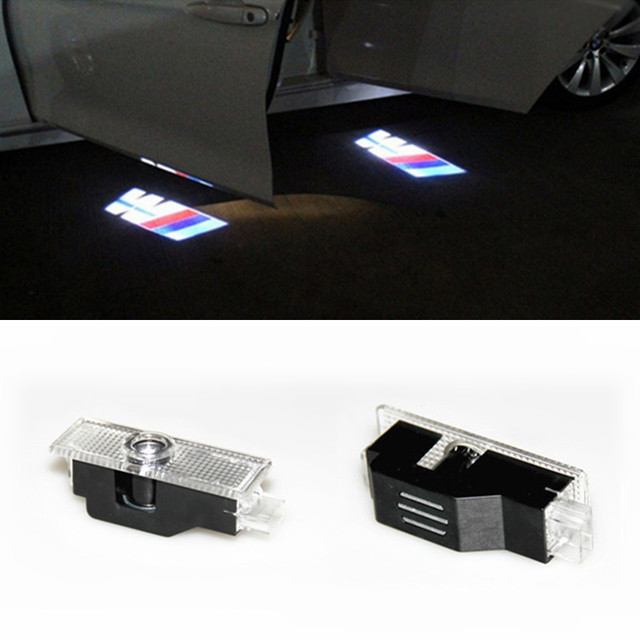 2 led car led courtesy door logo projector light ghost. Black Bedroom Furniture Sets. Home Design Ideas
