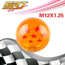 GRT - NEW car styling Racing Dragon Ball  gear   54mm Diameter shift knob 7 star M12x1.25  thread(China (Mainland))
