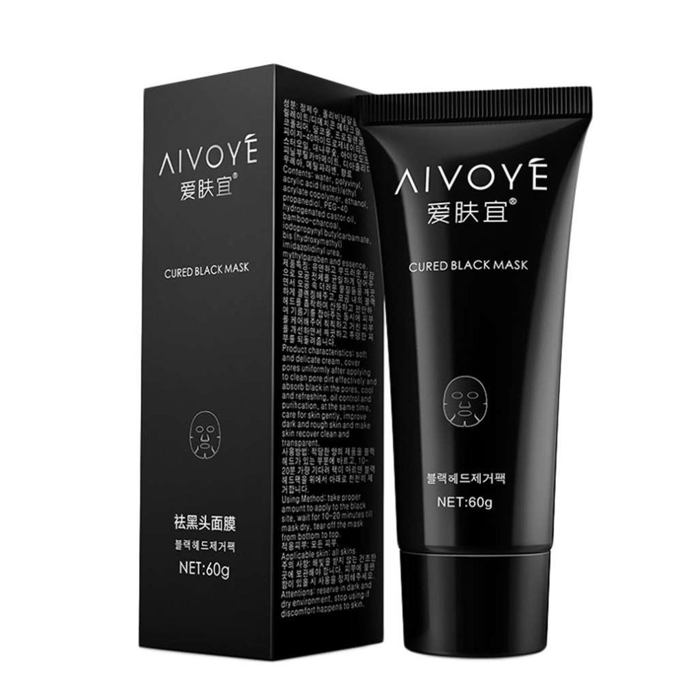 1Pcs Sucktion black mask Blackhead acne contract pores dumb rough face skin