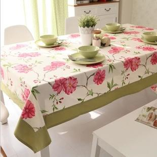 High Quality squareness table cloth Bottom idyllic white flowers pattern Coffee tablecloth Free Shipping FF934(China (Mainland))
