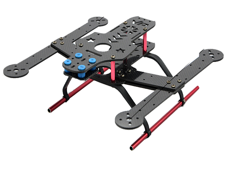 F14090/91 FCM310 Mini 310 mm 4-axle Quadcopter Frame Kit Unassembled DIY Personality FPV RC Drone UAV - Carbon / Glass Fiber +FS ShenZhen FeiChao Technology Co.,Ltd JMT store