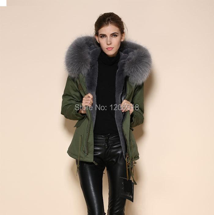 Winter Coat Faux Fur
