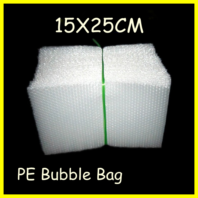 free shipping 100pcs/lot Air Bubble Envelopes Wrap Bags ,Pouches packaging,PE bubble bags,15x25cm,whole sale!(China (Mainland))