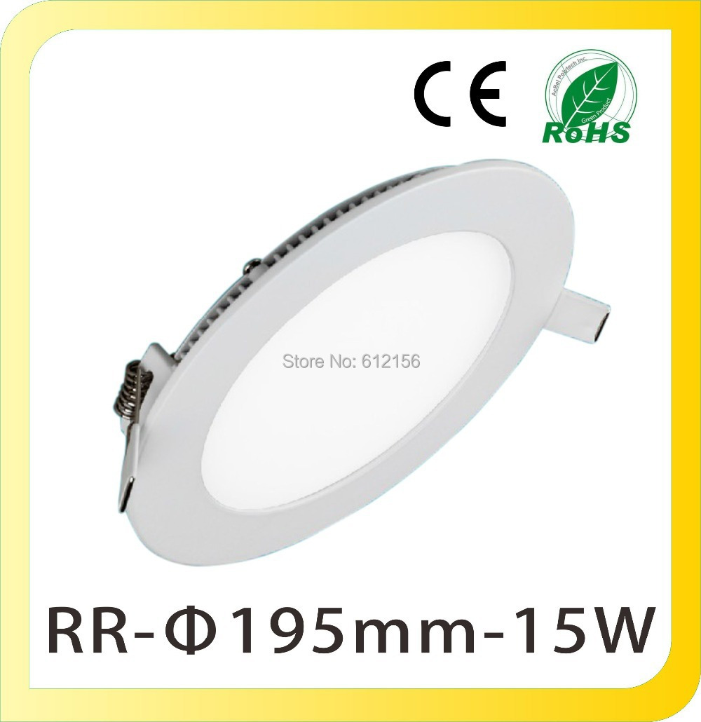 285-265V Ultra Thin Round 15W LED Downlights Ceiling Lamps SMD 2835 - Ningbo Yike Lighting Co., Ltd store