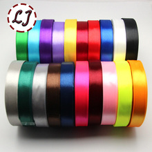 3roll/lot 25yd*0.6in Ribbon Satin Ribbon – 24 Colors