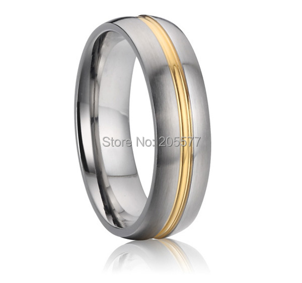 Buy Handmade Comfort Fit 6mm Pure Titanium Cool Mens Wedding