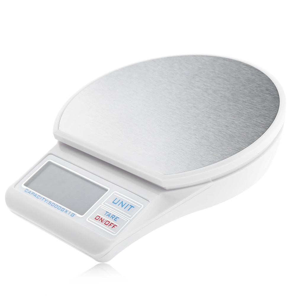 mini digital scale 5000g 1g precision electronic stainless. Black Bedroom Furniture Sets. Home Design Ideas