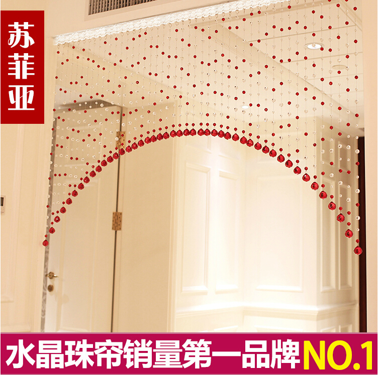 Buy 2015 hot sale arch crystal bead for Hotel drapes for sale