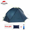 NatureHike Tent 4 seasons Outdoor Portable Double layer Camping Tents For 1 2 Person Lightweight Waterproof