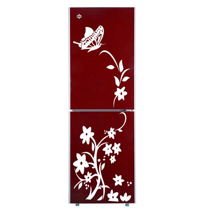 Acheter 3d papillon fleurs stickers muraux - Stickers pour refrigerateur ...