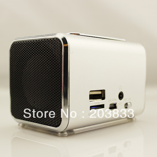 New Music Portable Mini USB Micro SD/TF Mp3 Player SPE05 digital computer speaker wholesale