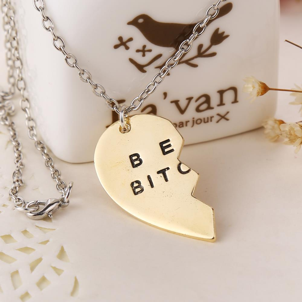 12set lot best friends pendant necklace women women men for Best mens jewelry sites
