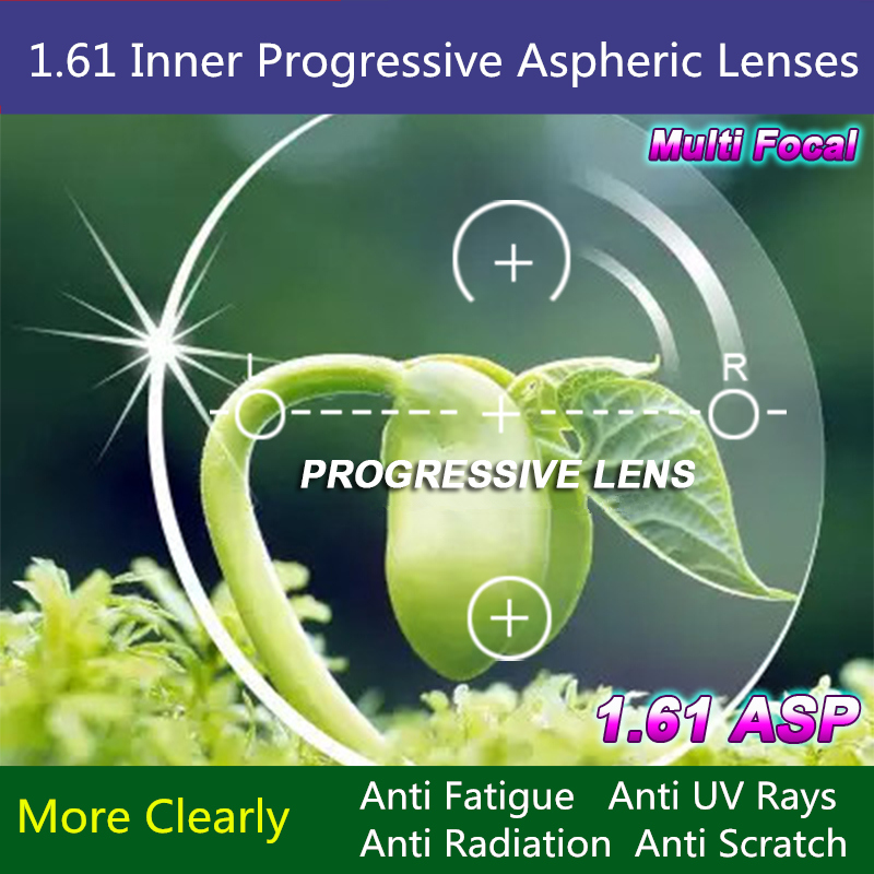 High Quality 1.61 Multifocal Myopia Presbyopia Inner Progressive Lenses Driving Reading Spectacles Optical RX LensОдежда и ак�е��уары<br><br><br>Aliexpress