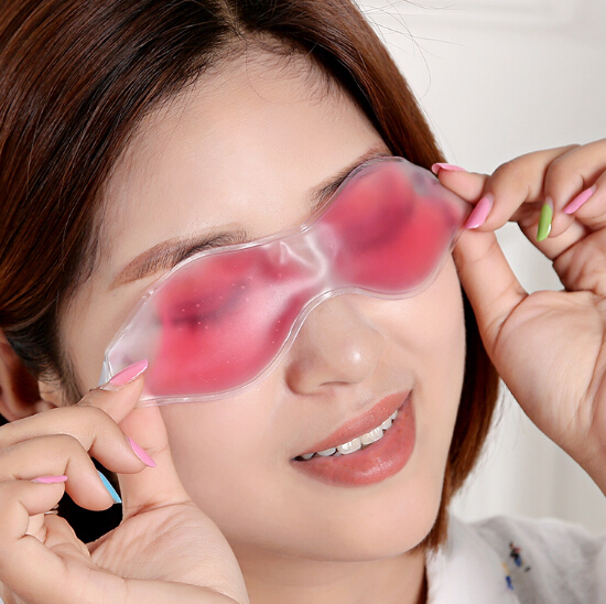 Multi-function ice goggles prevent dark circles wrinkles sleep refreshing ice cold massage goggles ss161(China (Mainland))