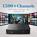 Mag 250 Linux System Set Top Box with Iudtv 1700 IPTV Free Channels Sports Canal Sports