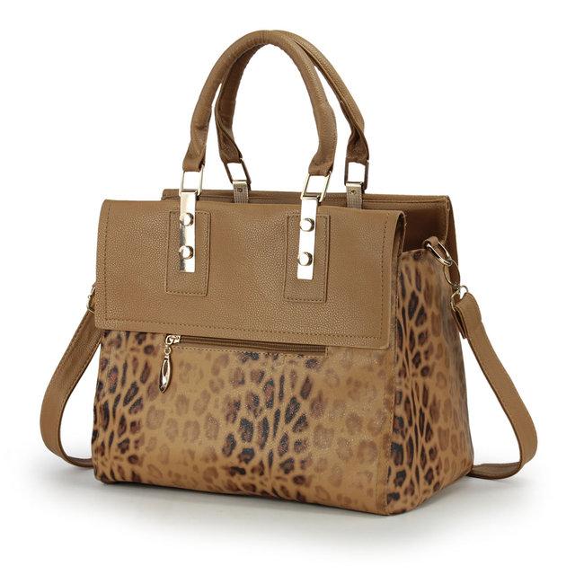 2013 fashion vintage leopard print Women bag commercial formal fashion women's handbag fashion messenger bag