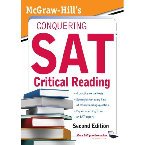 McGraw-Hill's Conquering SAT Critical Reading (5 Steps to a(China (Mainland))