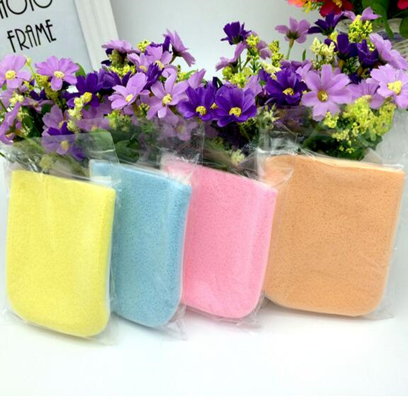 1 Pc Makeup Cleanser Towel Gloves Makeup Puff Seaweed Wash Puff Dual-use Gloves Cleansing Beauty Face Clean Make Up Sponge Pad