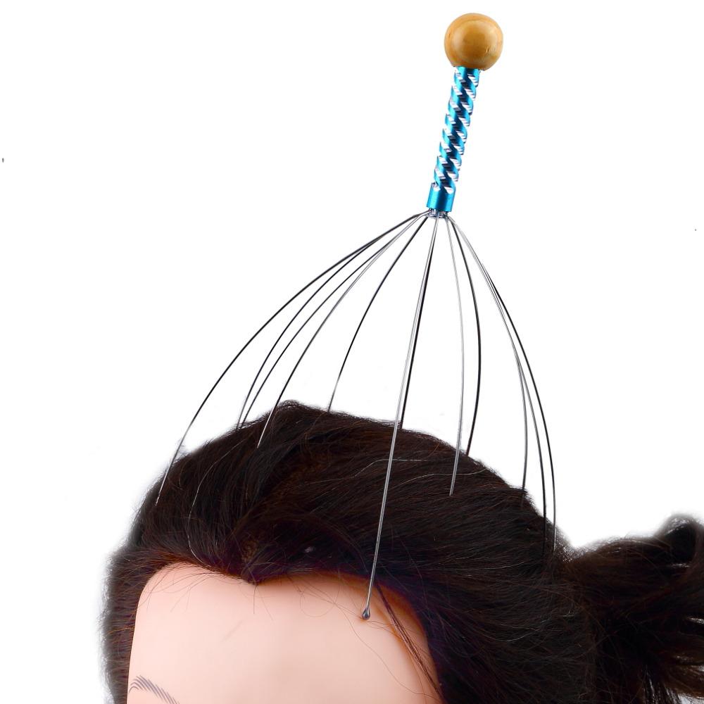 Гаджет  1pc free shipping Octopus Head Scalp Neck Equipment Stress Release Relax Massage Claw Massager 2015 Hot None Красота и здоровье