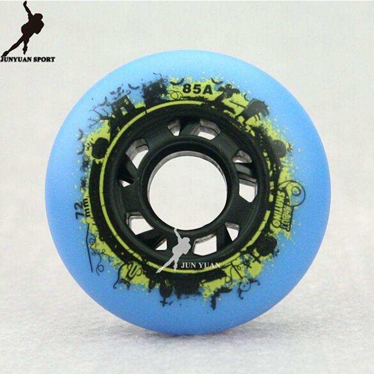 High quality!Skate Board Roller Skates Wheels Skating Wheels 72 76 80 mm 85A ,4 PCS/lot Free shipping Christmas Gift(China (Mainland))