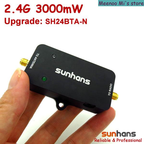 Sunhans booster 2.4G 3000mW wifi signal amplifier (SH24BTA-N) - Meenoo Mi's store