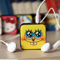 HOT mini Clip MP3 Player With Micro TF SD Card Slot Music players Spider Man Minions