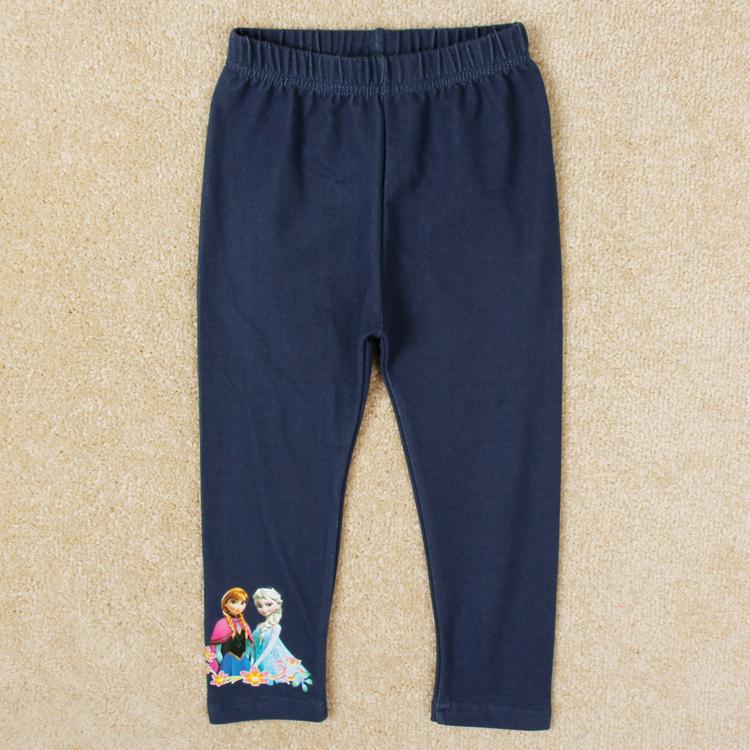 Girl anna elsa leggings Kids Pants Girls Nova Girls Pants Printed Cartoon Baby Pants Spring Print Children Girls Pants G5496<br><br>Aliexpress