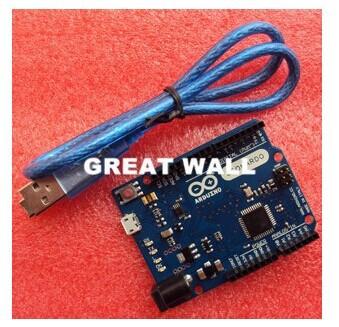 Freeshipping ! Leonardo R3 development board Board + USB Cable compatible arduino (QFN ATMEGA32U4-MU) - GUANGKE ELECTRONICS CO.,LIMITED store