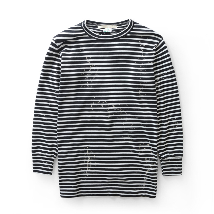 Europe 2016 fashion brand new Pyrex C/O Virgil Abloh OFF WHITE long section of thin striped long-sleeved SweatshirtsОдежда и ак�е��уары<br><br><br>Aliexpress