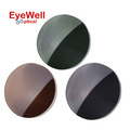 1 56 Men and Women Myopia Presbyopia Polarized Sunglasses Lenses Brown Grey Green Sun Glasses for