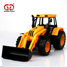 1:30 Boy Favorite Children's Toys Simulation Miniature 25Cm Model Bulldozer Forklift Truck Beach Tractor Cars Toys(China (Mainland))