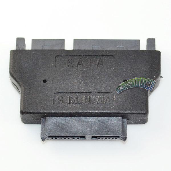 SATA 22 pin 22p Male to ODD slimline SATA 13 pin Female CD-ROM convertor adapter(China (Mainland))