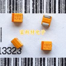 Buy 100PCS/LOT Chip tantalum capacitors 107C 16V 100UF B type 3528/1210 for $13.66 in AliExpress store