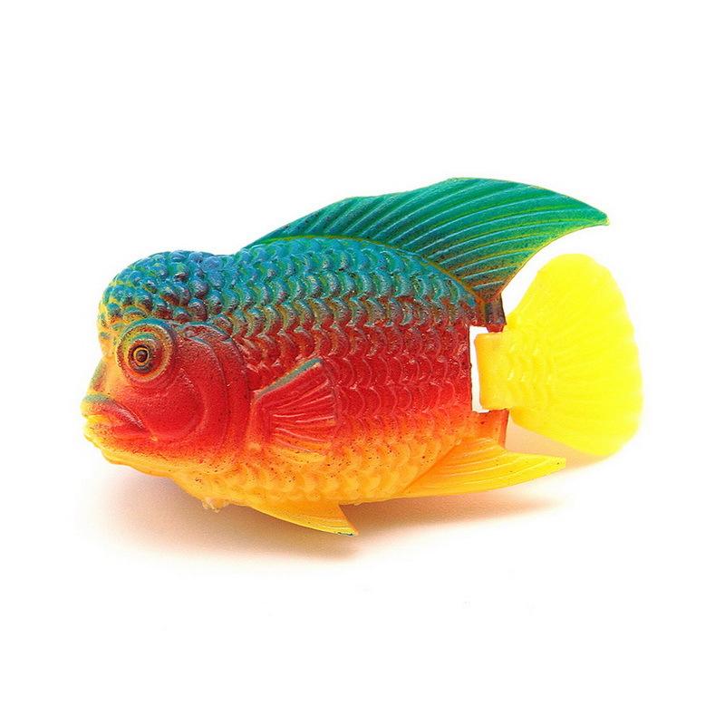 1pcs Fish Tank Decor Plastic Swimming Artificial Fish